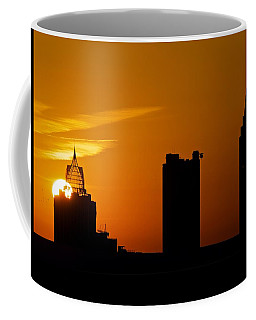 Skyscraper Sunset Coffee Mug