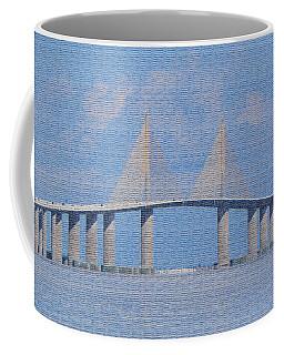 Skyway Bridge Coffee Mug by Rosalie Scanlon