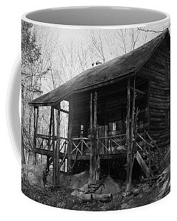 Coffee Mug featuring the photograph Slabsides In Spring by Jeff Severson