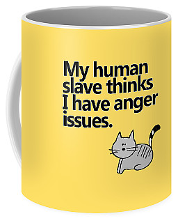 Slave To The Kitty Coffee Mug