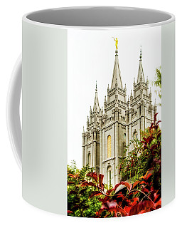Slc Temple Angle Coffee Mug by La Rae  Roberts