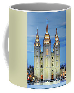 Slc Temple Blue Coffee Mug