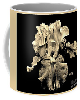 Sleek Sepia Iris Coffee Mug