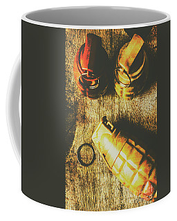 Sleeper Cell Marines Activated Coffee Mug