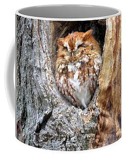 Sleeping Among The Snowflakes Coffee Mug