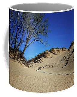 Sleeping Bear Dunes Boardwalk Coffee Mug by Rachel Cohen