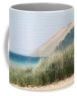 Sleeping Bear Sand Dune Coffee Mug by Dan Sproul