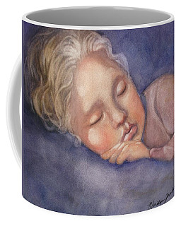 Sleeping Beauty Coffee Mug by Marilyn Jacobson