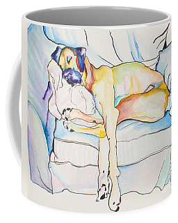 Sleeping Beauty Coffee Mug by Pat Saunders-White