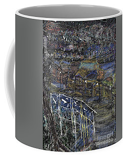 Sleeping Hilltown Coffee Mug