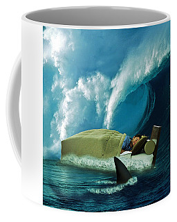Sleeping With Sharks Coffee Mug