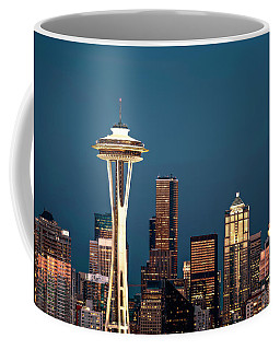 Sleepless In Seattle Coffee Mug by Eduard Moldoveanu