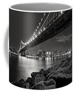 Sleepless Nights And City Lights Coffee Mug