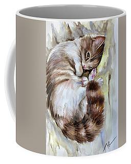 Sleepy Cat 2 Coffee Mug