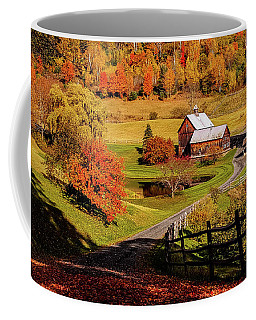 Coffee Mug featuring the photograph Sleepy Hollow - Pomfret Vermont-2 by Jeff Folger