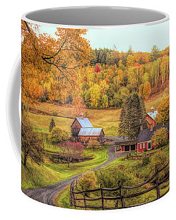 Coffee Mug featuring the photograph Sleepy Hollow - Pomfret Vermont In Autumn by Jeff Folger