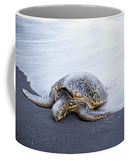 Sleepy Honu Coffee Mug
