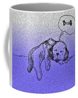 Sleepy Puppy Dreams Coffee Mug