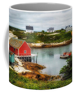 Sleepy Seascape Coffee Mug