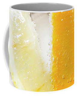 Slice Of Orange And Lemon In Cocktail Glass Coffee Mug