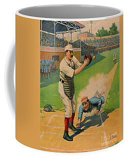 Sliding Home 1897 Coffee Mug