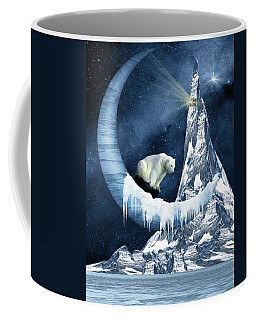 Sliding On The Moon Coffee Mug by Mihaela Pater
