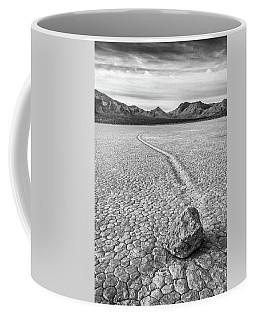 Sliding Stone, Racetrack Playa Coffee Mug
