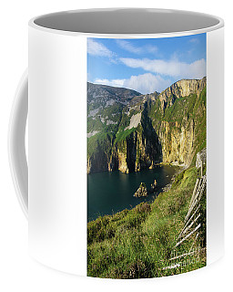 Coffee Mug featuring the photograph Slieve League Cliffs Eastern End by RicardMN Photography