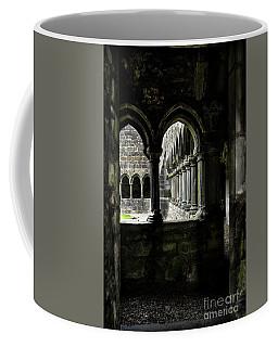 Coffee Mug featuring the photograph Sligo Abbey Interior by RicardMN Photography