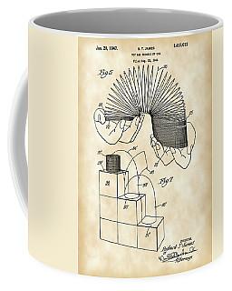 Slinky Patent 1946 - Vintage Coffee Mug by Stephen Younts
