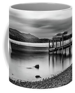 Slipping The Jetty Coffee Mug