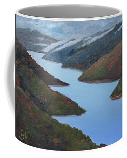 Sliver Of Crystal Springs Coffee Mug by Gary Coleman