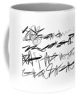 Sloppy Writing Coffee Mug