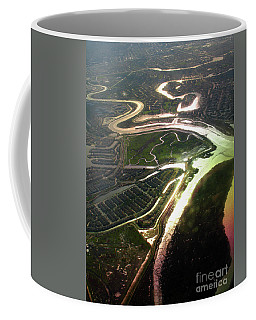 Sloughs And Wetlands Oversan Francisco Bay Area, California Coffee Mug