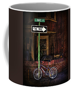 Slow Down On The Race Street Coffee Mug