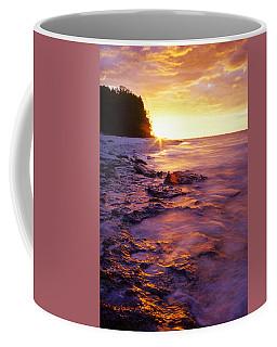 Slow Ocean Sunset Coffee Mug