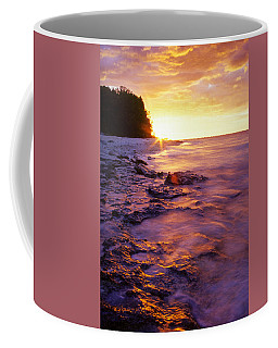 Slow Ocean Sunset Coffee Mug