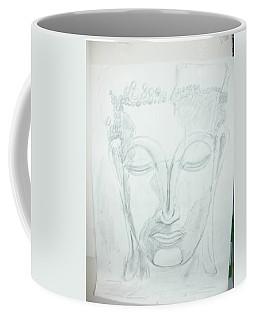 Slumbering Buddha Coffee Mug by Sharyn Winters