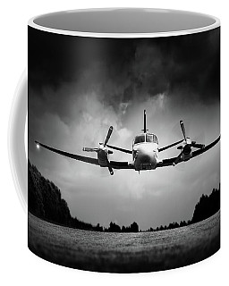 Small Airplane Low Flyby Coffee Mug