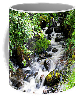 Small Alaskan Waterfall Coffee Mug