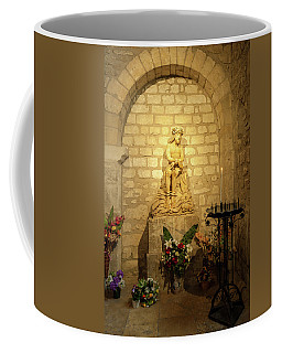 Small Altar In The Cathedral In Reims Coffee Mug