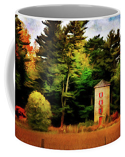 Small Autumn Silo Coffee Mug