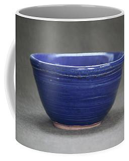 Small Blue Ceramic Bowl Coffee Mug