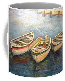 Small Boats Coffee Mug