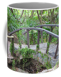 Coffee Mug featuring the photograph Small Brown Bridge by Raphael Lopez