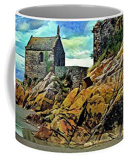 Small Chapel At The Mont Saint Michel Abbey Coffee Mug