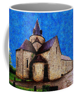 Coffee Mug featuring the photograph Small Church 4 by Jean Bernard Roussilhe