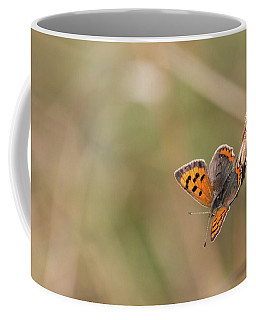 Small Copper Butterfly Coffee Mug