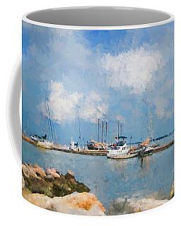 Small Dock With Boats Coffee Mug