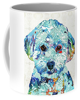 Small Dog Art - Soft Love - Sharon Cummings Coffee Mug